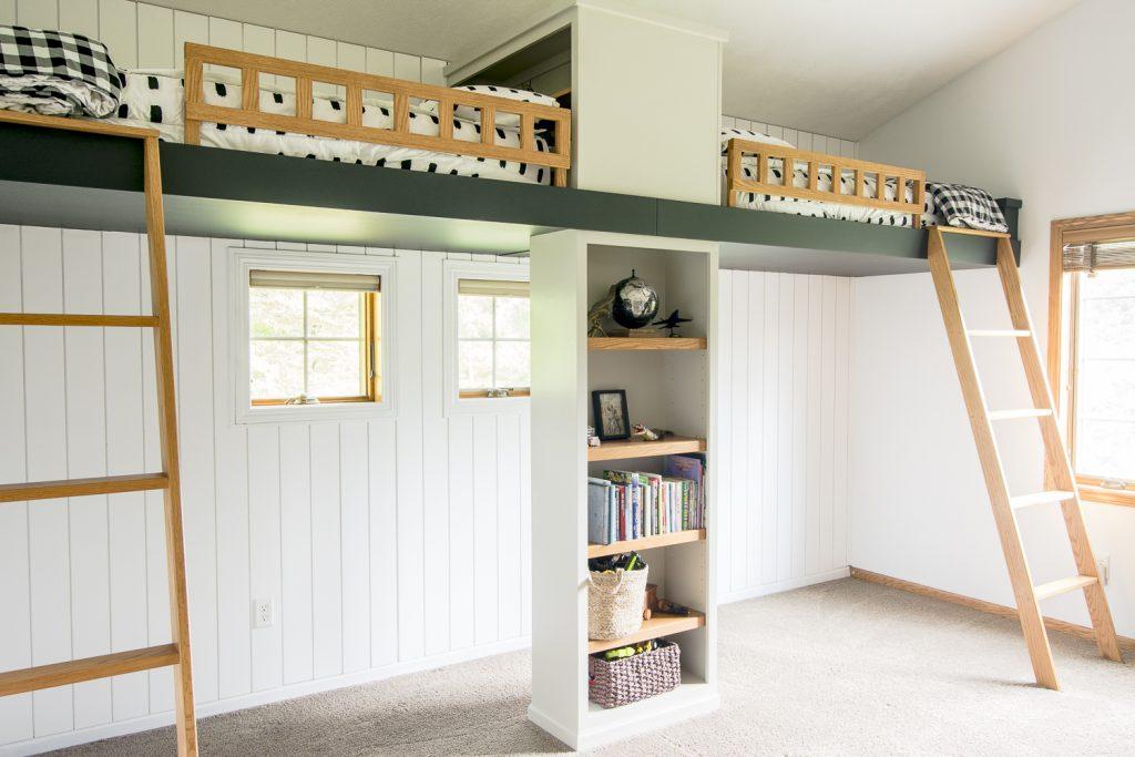 Modernize A Double Loft Bed