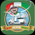 Man Pizza Jump Run icon