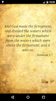 Screenshot of Daily Holy Bible Verse KJV