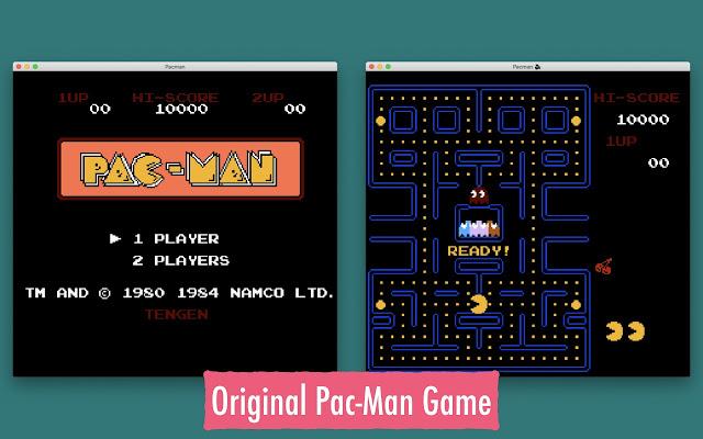 Original Pac-Man Game
