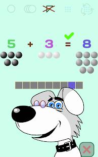 Přidání a číslice pro děti +1 - náhled