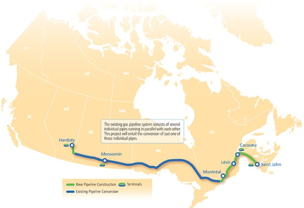 The Energy East Pipeline Greenpeace Canada Greenpeace Canada - Us pipeline 1950 map