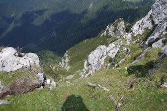 Photo: put ide preko grebena desno
