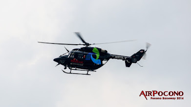 Photo: No one needed MedEvac car this weekend but the skies were busy too.