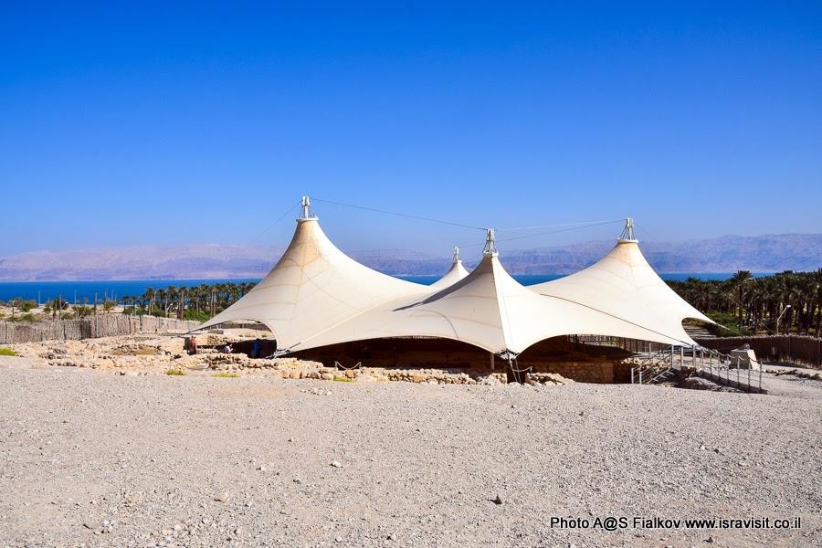 Древняя синагога Эйн-Геди. Экскурсии в Израиле.