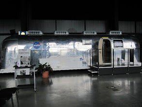 Photo: The Mobile Quarantine Facility used by Armstrong, Collins & Aldrin.  Four of these vessels were used for astronauts returning from Apollo 11, 12, 13 and 14.