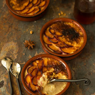 Rice Pudding with Jaggery & Star Anise.