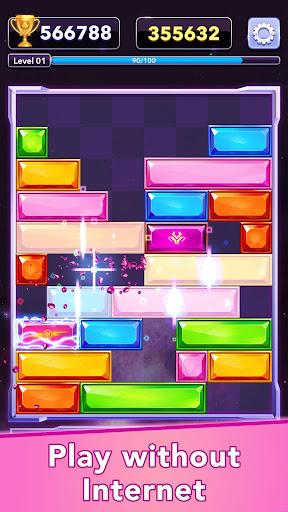 Jewel Slidingu2122 - Falling Puzzle, Slide Puzzle Game  screenshots 4