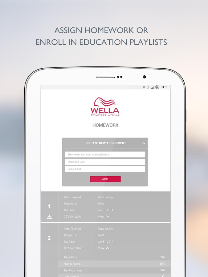 Wella Professionals- screenshot