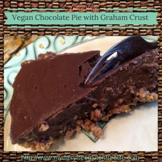 Chocolate Pie with Graham Crust Recipe (Dairy-Free Gluten-Free)