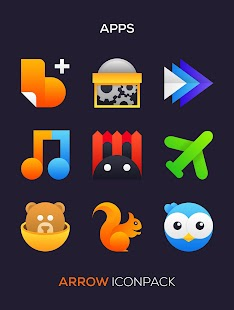 ARROW Icon Pack Screenshot