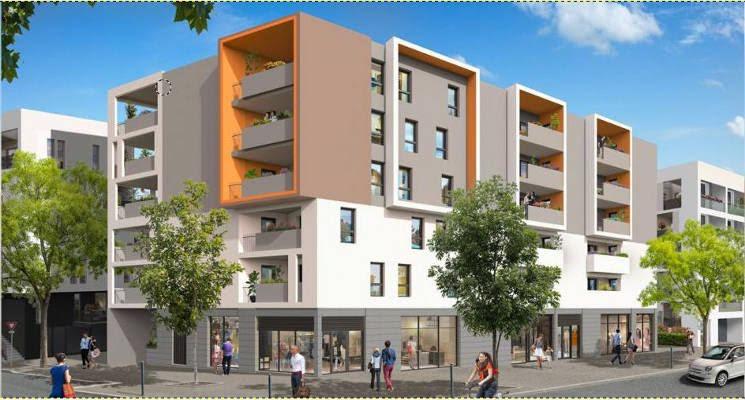 Montpellier au coeur du quartier Pierresvives