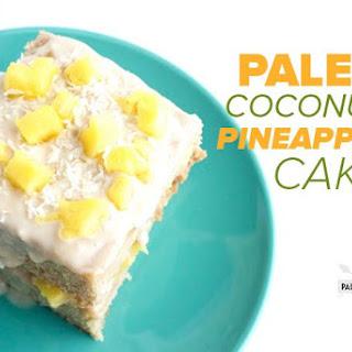 Paleo Coconut Pineapple Cake.