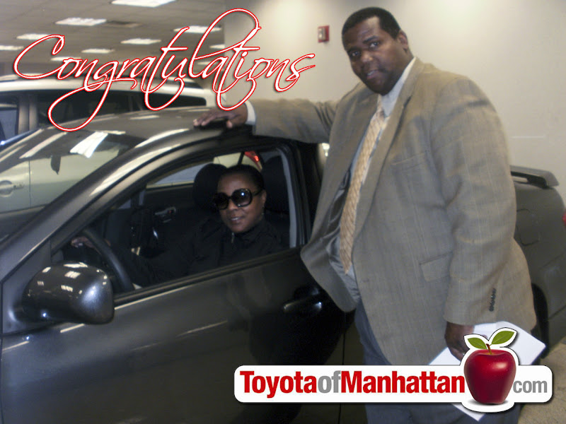 Photo: Will with Stephanie and her new Toyota Corolla S! Congratulations Stephanie!