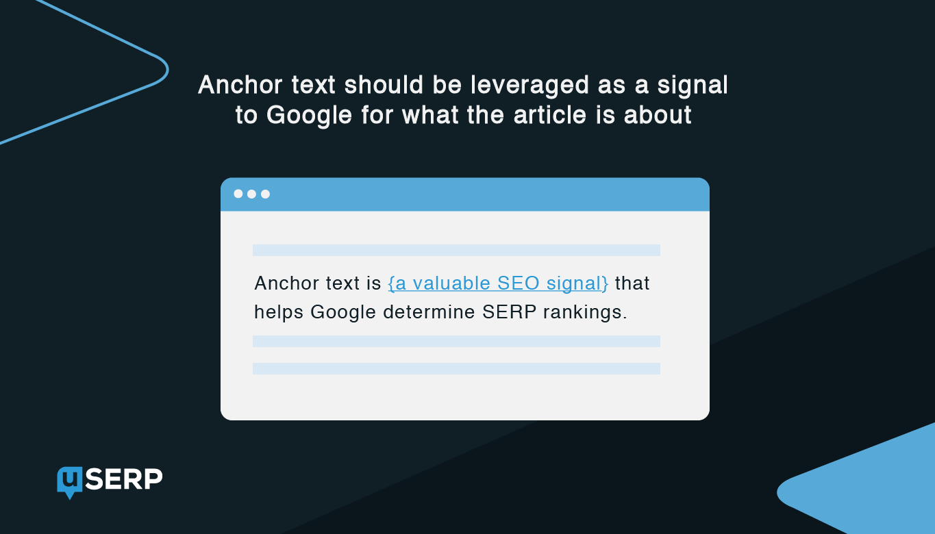 anchor text analysis for link building