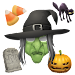 Aviary Stickers: Halloween icon