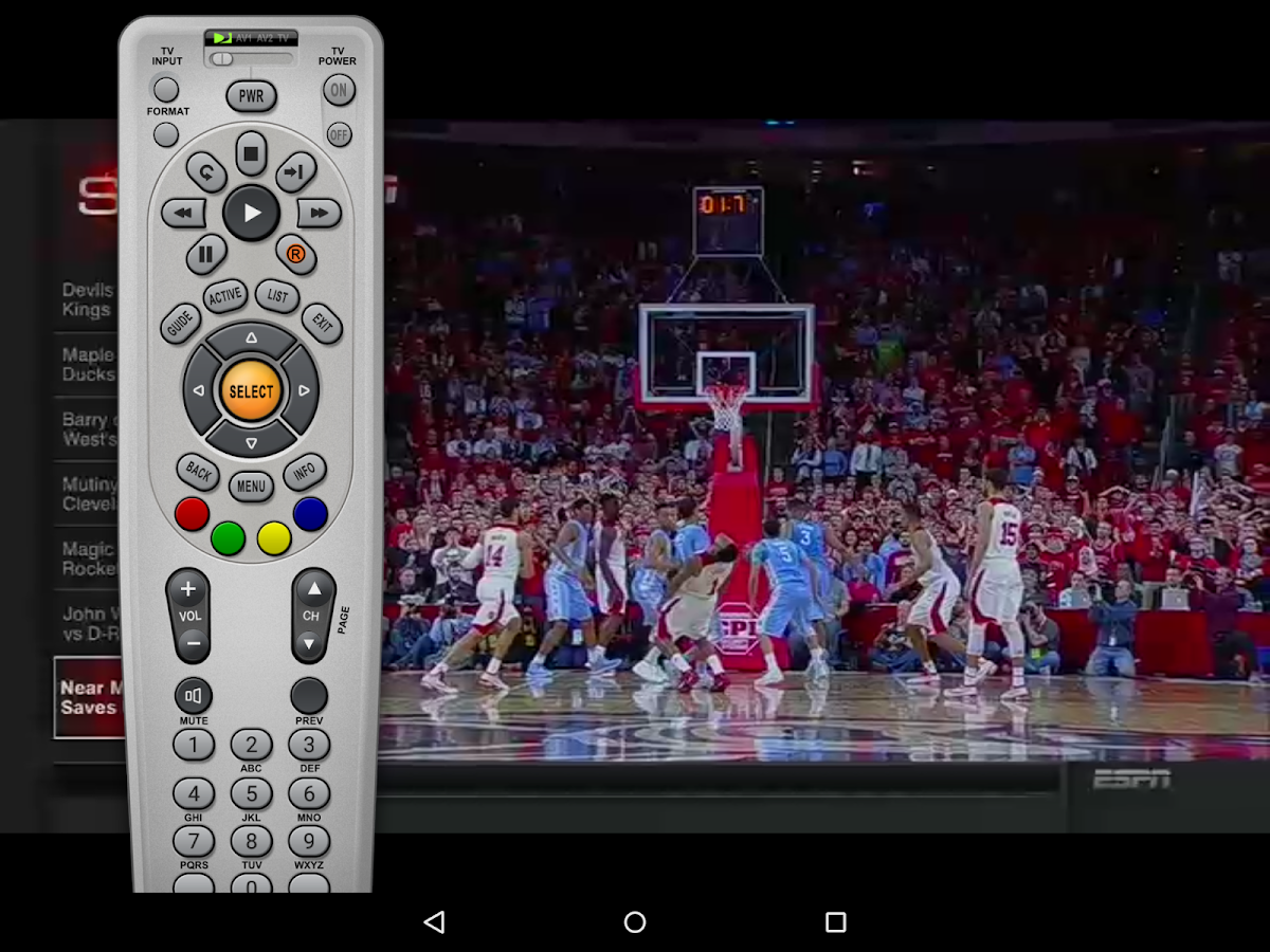 SlingPlayer Free for Tablet- screenshot