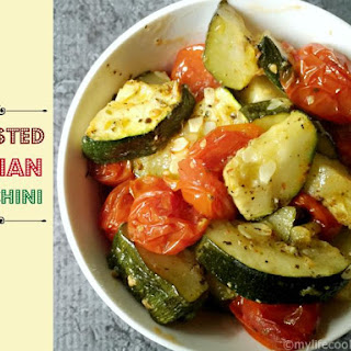 Roasted Italian Zucchini