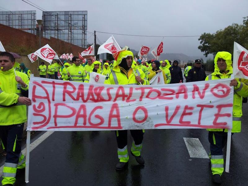 Photo: Contra los incumplimientos de Transaltozano