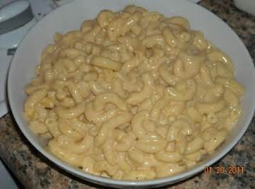 Mac and cheese with a twist