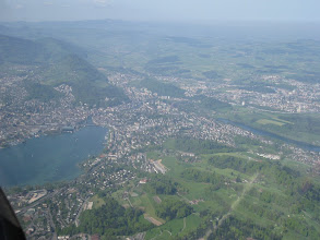 Photo: A view of the city of Luzern and the surrounding area http://www.swiss-flight.net