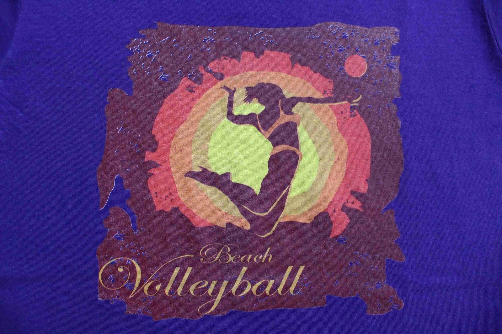 Sportinator: tričko s potiskem na beach volejbal