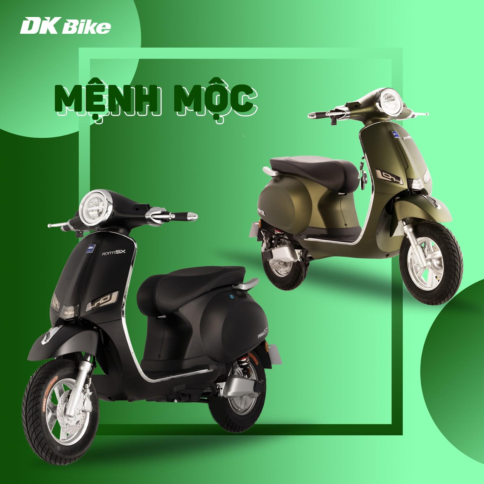 Tìm hiểu thêm về xe điện DK RomaSX