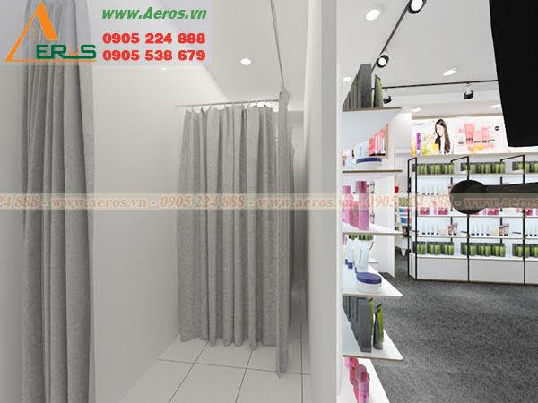 Hình ảnh thiết kế shop mỹ phẩm Macy ở tại quận Tân Bình, TPHCM