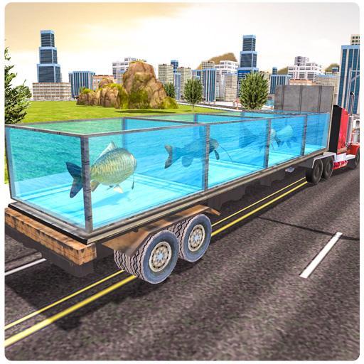 Transport Sea Animals Truck Cargo
