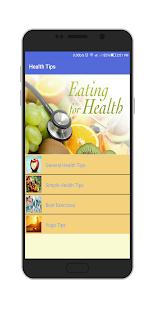 Body Health Tips - náhled