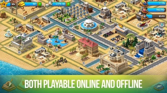 Paradise City Island Sim Bay Mod 2 0 0 APK (Unlimited Money) - APKFry