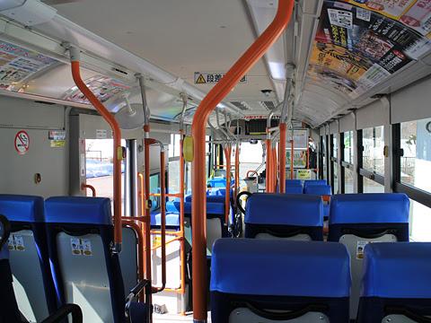 十勝バス 1601 創立90周年記念復刻塗装車 車内