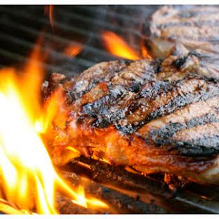 Sandy's Sugar Grilled Steaks.