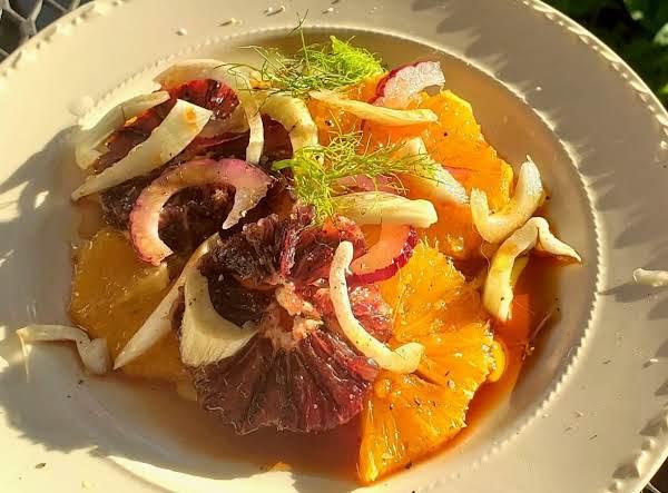 Sicilian Orange Salad Recipe