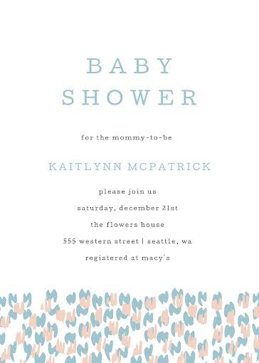 Kaitlynn's Baby Shower - Baby Shower Invitation Template
