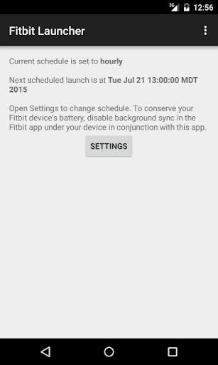 Fitbit Launcher