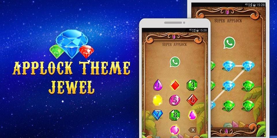 android Applock Theme Jewels Star Screenshot 0