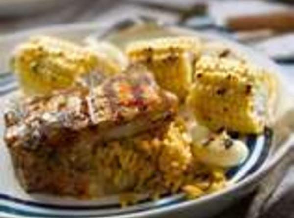 Bbq Grilled Stuffed Pork Chops, By Freda Recipe