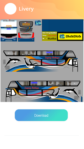 Livery Sugeng Rahayu double decker 1.2 screenshots 1