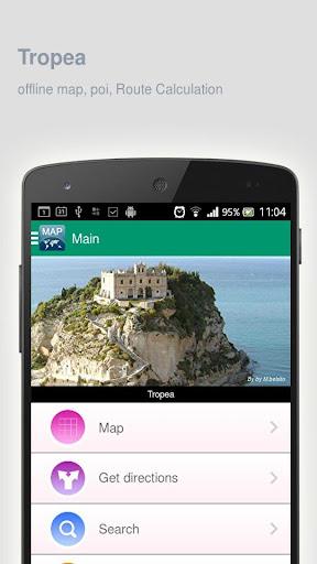 Tropea Map offline