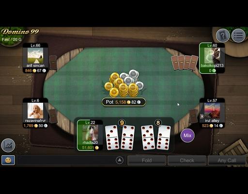 NEW Mango Domino 99 - QiuQiu  gameplay | by HackJr.Pw 9