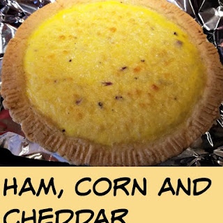 Got Leftovers? Ham, Corn and Cheddar Quiche