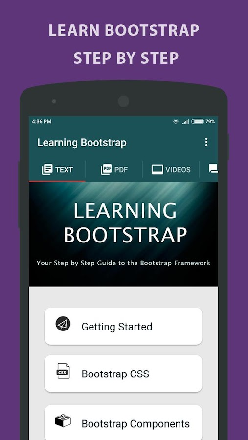 Learning Bootstrap - Tutorial- screenshot