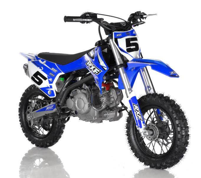 50cc RXF Kids 4 Stroke Dirt Mini Bike Blue