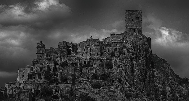 The abandoned town, Craco di Matteo Faliero