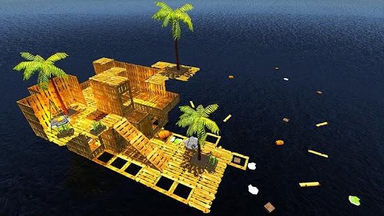 Raft Survival Simulator- screenshot thumbnail