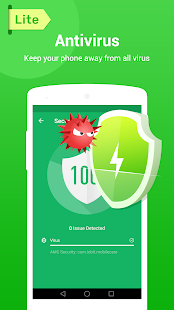 MAX Security Lite - Antivirus, Booster, AppLock Screenshot