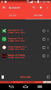 Appsaver v18.0