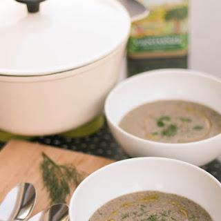 Cream of Mushroom Soup - Vegan and GF.