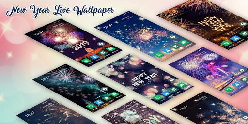New Year 2019 Live Wallpaper 1.0 screenshots 5